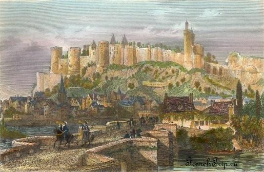 Chinon (Шинон) и Château de Chinon (Замок Шинона) - достопримечательности, путеводитель по городу, как добраться, история замка Шинон, транспорт в Шинон