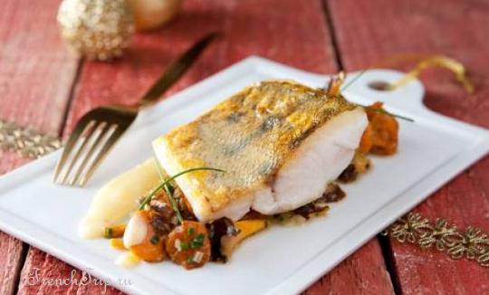 sandre au beurre blanc - Кухня долины Луары