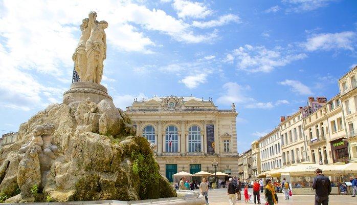 Montpellier (Монпелье), Франция - достопримечательности, путеводитель по городу