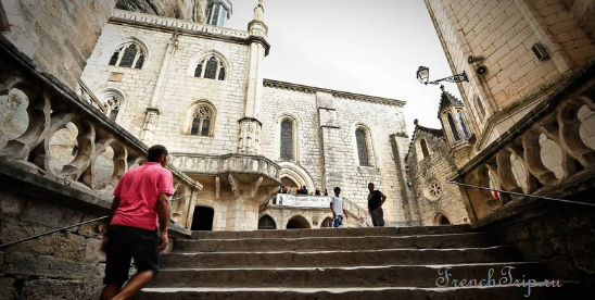 Rocamadour stairs