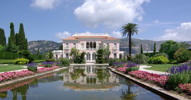 Saint-Jean-Cap-Ferrat Villa Etrussi Rotshild