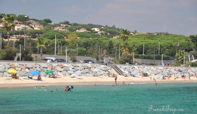 Sainte-Maxime (Сент-Максим), Лазурный берег Франции - достопримечательности, путеводитель по городу