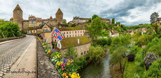 Semur-en-Auxois (Семюр-ан-Осуа), Burgundy Экскурсии по Семюр-ан-Осуа