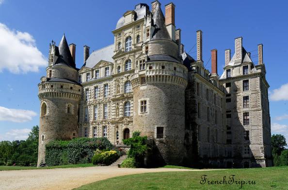 Château de Brissac (Замок Бриссак), замки долины Луары