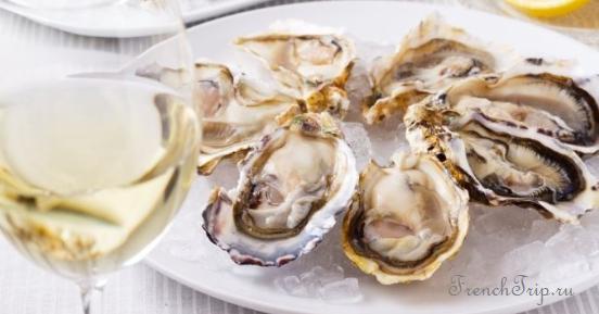 Bretogne cuisine Бретонская кухня oysters Normandie