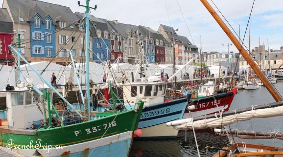 Paimpol (Пемполь) - прибрежный город в северной Бретани