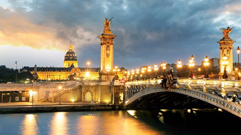 Париж, берега Сены