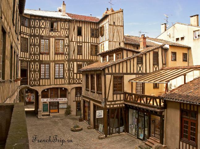 Limoge (Лимож) - достопримечательности, путеводитель по городу, города Франции