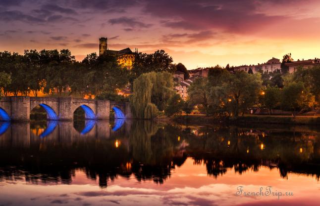 Limoges (Лимож) - достопримечательности, путеводитель по городу, города Франции