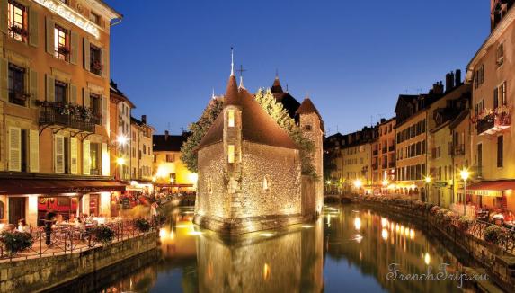 Annecy (Анси), Франция - путеводитель по городу