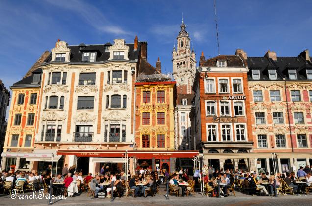 Lille (Лилль), Франция - достопримечательности, путеводитель по городу, как добраться: расписание транспорта, стоимость билетов. Погода в Лилле. Карта Лилля