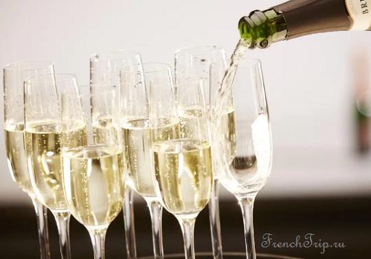 Дегустация шампанского