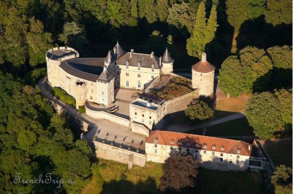 Château de Chastellux_Burgundy castles