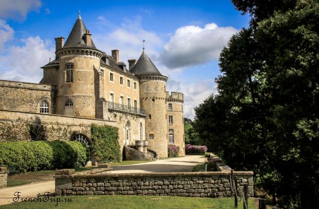 Chateau de Chastellux (Замок де Шастеллю) - Château de Chastellux_Burgundy castles
