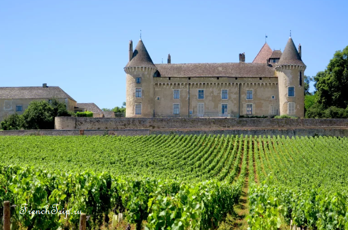 Château de Rully in Burgundy