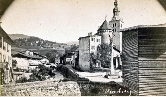 История города Межев, Франция - путеводитель по городу Межев, горнолыжный курорт Межев