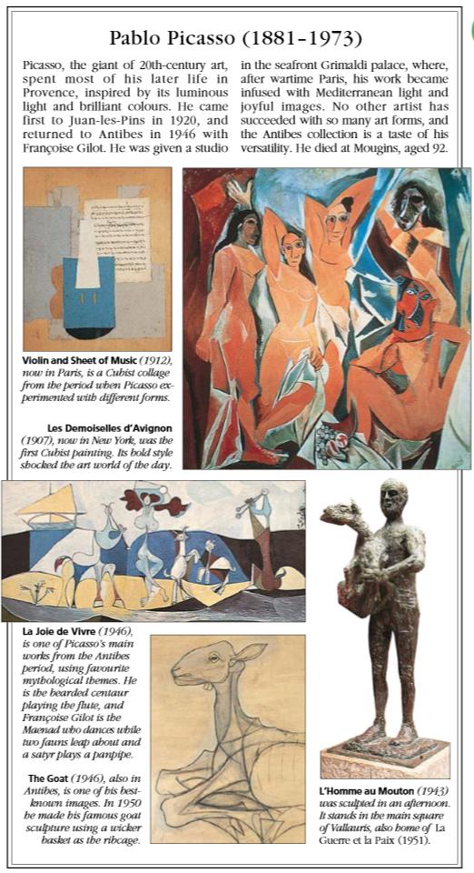 Pablo Picasso Provence