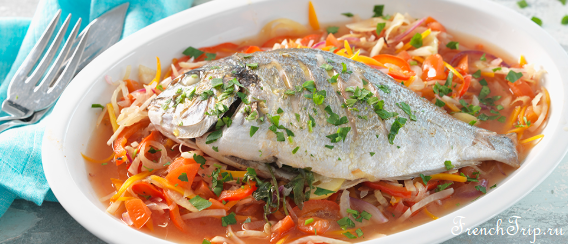 Escabeche fish french cuisine provencal cuisine provence
