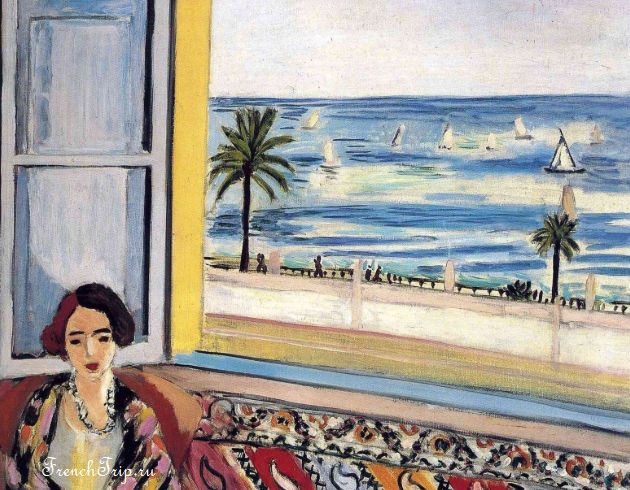 Henri Matisse - Seated Woman, Back Turned to the Open Window