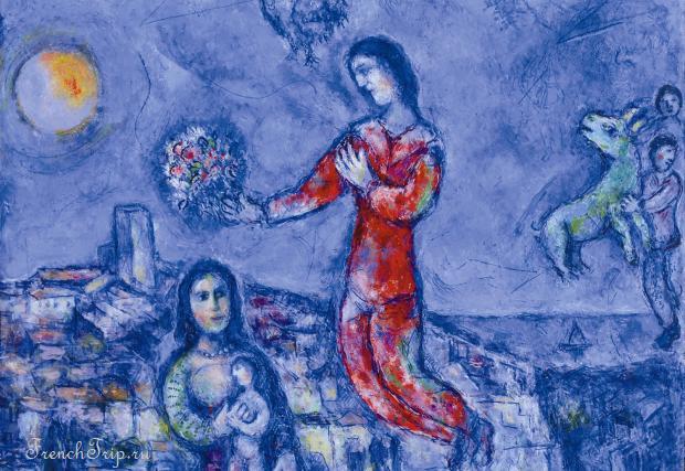 Марк Шагал в Провансе