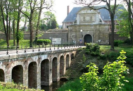 Arras Citadel UNESCO Достопримечательности Арраса: Цитадель, Нижний город, Сите