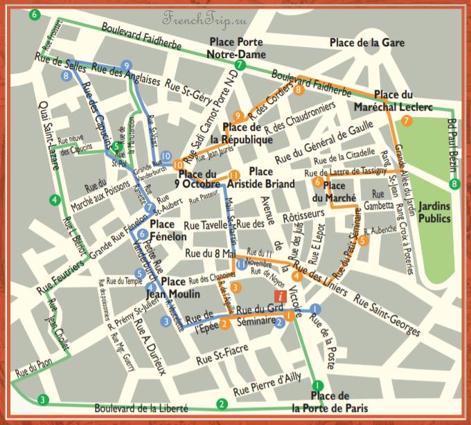 Туристический маршрут по Камбре