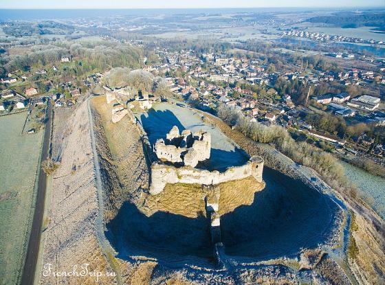 Dieppe Castle of Arques-la-Bataille chateau