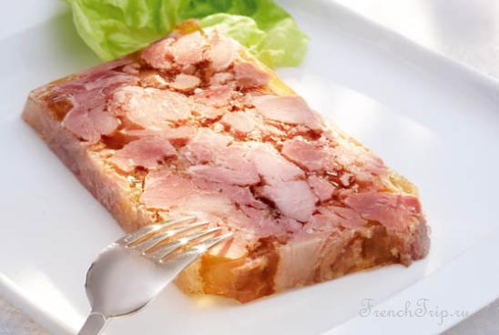 French Cuisine Nord Pas le Calais - Potjevleisch