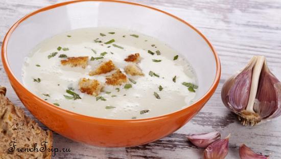Фирменное блюдо Дуэ - Soupe à l Ail