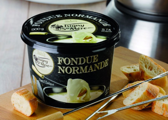 Normandie cuisine traditional dish Fondue normande