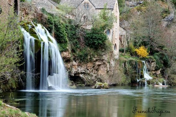 Saint-Chély-du-Tarn (Сен-Шели-дю-Тарн) Saint-Chély-du-Tarn travel guide - Gorges du tarn - cascades