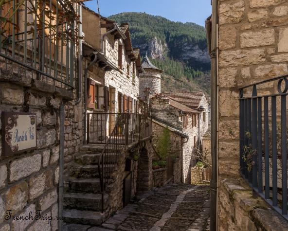 Sainte Enimie_walking tour_map_travel guide_street_2 Sainte-Enimie (Сент-Эними)/ Gorges du Tarn Causses