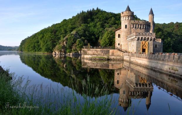 Château de La Roche (Saint-Priest-la-Roche) - Замок Ла Рош - Loire castles Замки долины Луары