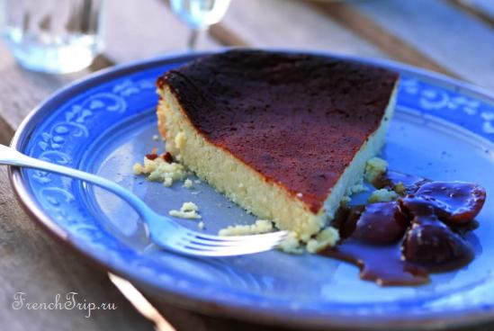 Corsica cuisine traditional dishes - Fiadone