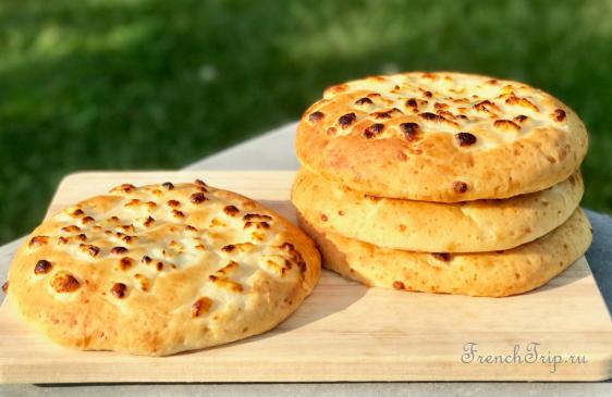 Corsica cuisine traditional dishes -Migliacci