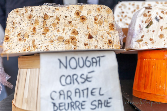 Corsica nougat cuisine traditional dishes