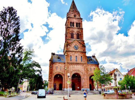 Munster, Alsace_church