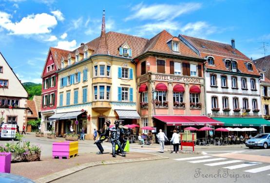 Munster, Alsace_street