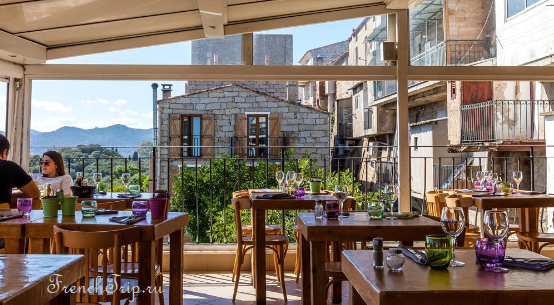 Porto Vecchio Corsica restaurant Кухня Корсики