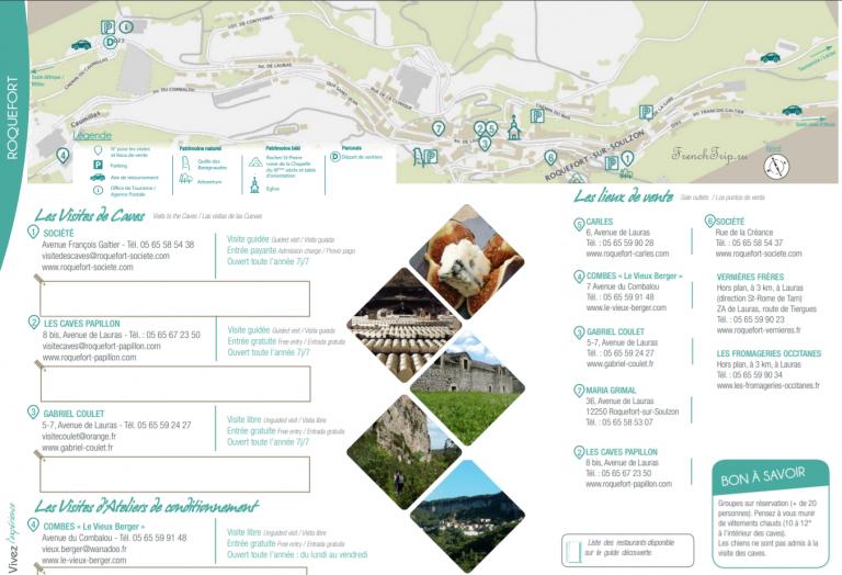 Roquefort map