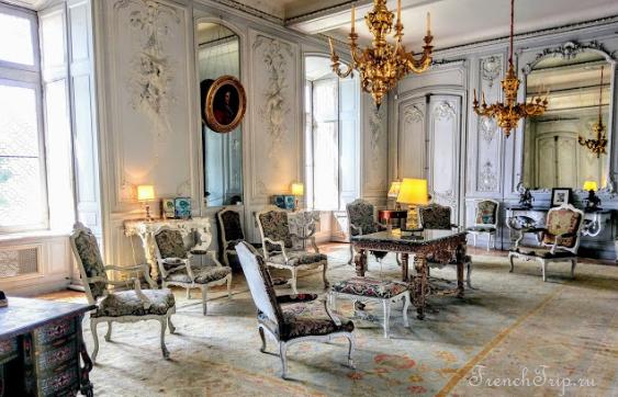 Сhâteau du Plessis-Bourré Loir Valley french castles interior