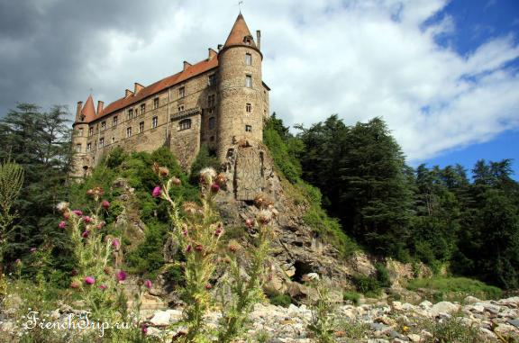 château de Lavoûte-Polignac Loire castles