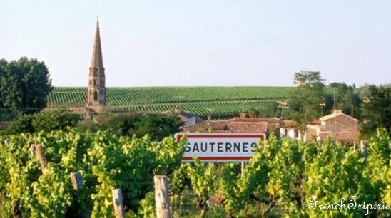 Bordeaux vineyards wine routes, Винные маршруты Бордо - карта - виноградники Бордо -vineyards Sauternes AOC - виноградники Сотерн, вина Сотерн
