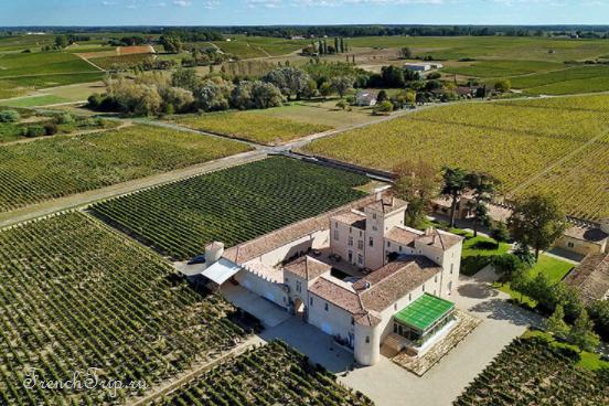 Bordeaux vineyards wine routes, Винные маршруты Бордо - карта - виноградники Бордо - wine Sauternes AOC - вина Сотерн- Шато Сотерн - Château Lafaurie-Peyraguey 1