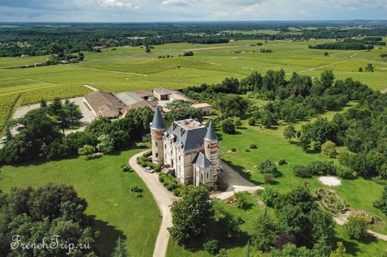 Bordeaux vineyards wine routes, Винные маршруты Бордо - карта - виноградники Бордо - wine Sauternes AOC - вина Сотерн- Шато Сотерн - Château Lafaurie-Peyraguey