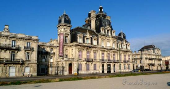 Bordeaux walking tour Маршрут по Бордо возле вокзала (кварталы SAINT-JEAN, BELCIER, EURATLANTIQUE) - CHÂTEAU DESCAS