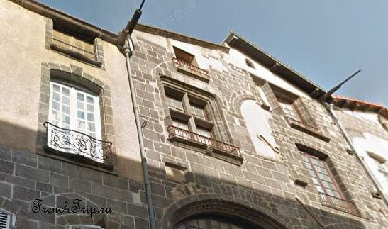 Clermont-Ferrand - Клермон-Ферран - достопримечательности, маршрут по городу, что посмотреть, фото - Монферран маршрут по городу, карта Монферрана - 8, rue Jules-Guesde