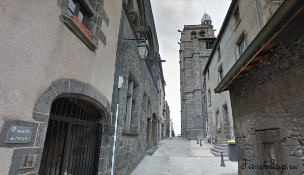 Clermont-Ferrand - Клермон-Ферран - достопримечательности, маршрут по городу, что посмотреть, фото - Монферран маршрут по городу, карта Монферрана - Eglise Rue Kleber