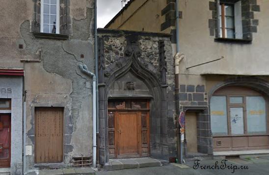 Clermont-Ferrand - Клермон-Ферран - достопримечательности, маршрут по городу, что посмотреть, фото - Монферран маршрут по городу, карта Монферрана - Hôtel Jean Doyac