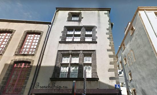 Clermont-Ferrand - Клермон-Ферран - достопримечательности, маршрут по городу, что посмотреть, фото - Монферран маршрут по городу, карта Монферрана - Hôtel du Lignat